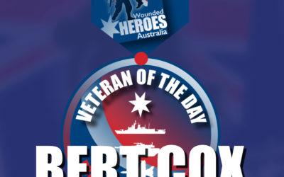 Bert Cox – Warrant Officer